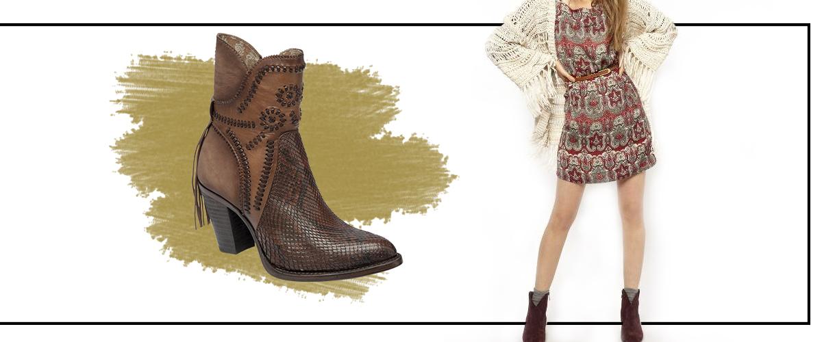 56bfcdf5 Tus faldas de todos los días, las mini en corte A o pequeños vestidos van  excelente con este tipo de botines al tobillo. Combínalas con botines  cerrados o ...