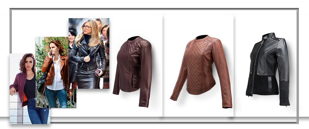Wear a leather jacket as a CELEBRITY