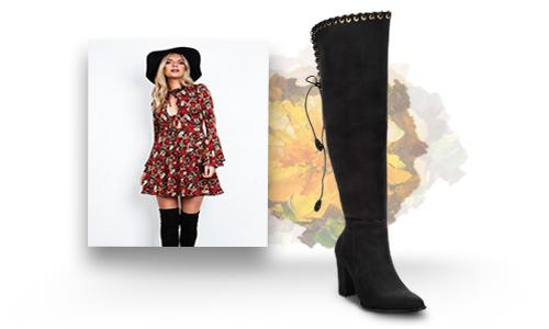 Cómo Combinar Vestidos Con Botas Blog Cuadra