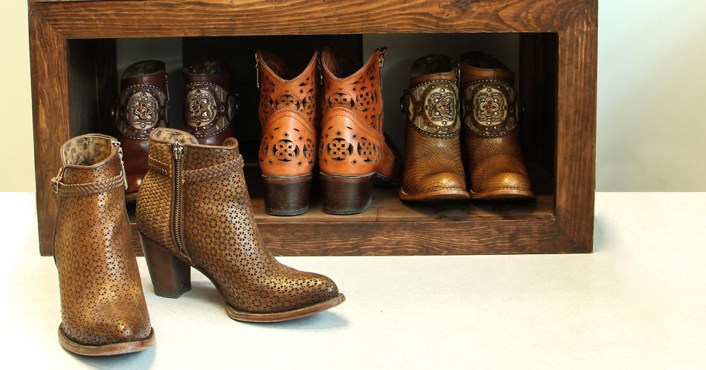 la forma correcta de organizar tu calzado