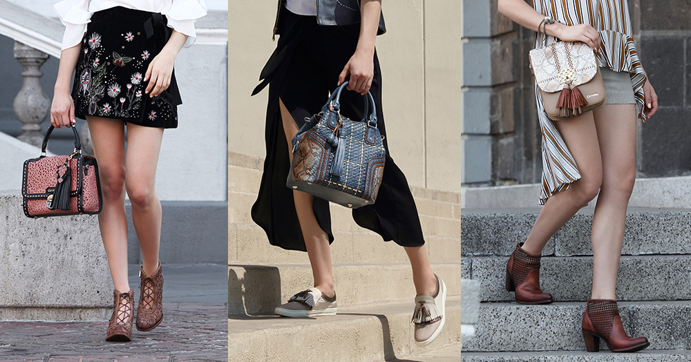 How to combine bag and shoes like a pro