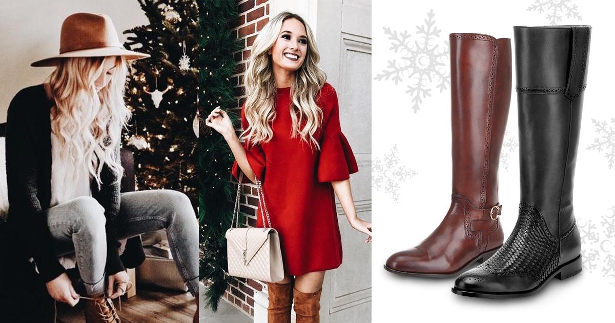 Outfits sencillos para Navidad