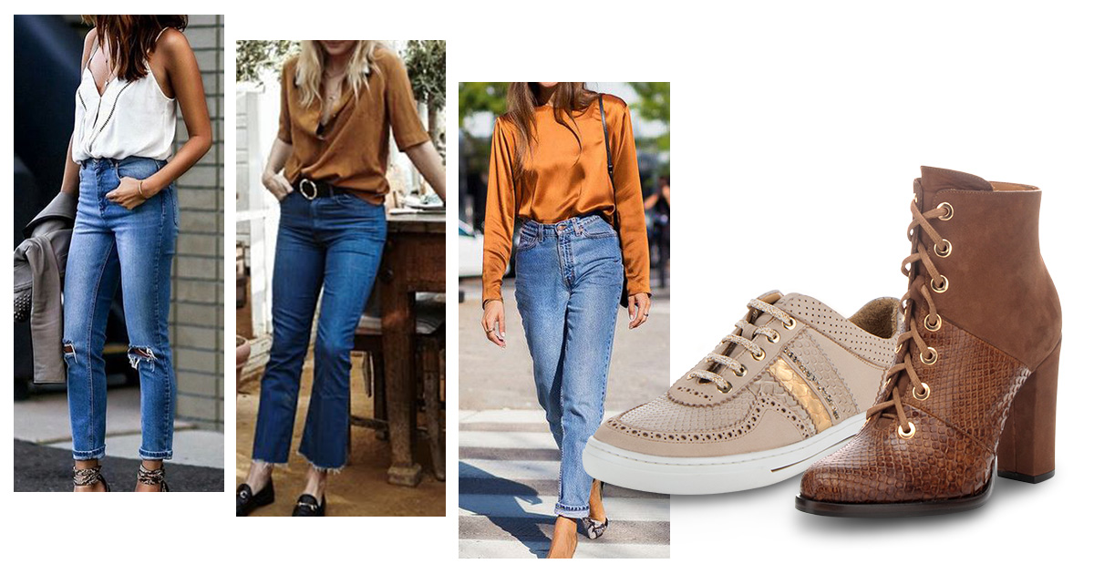 Los jeans que estaremos usando en 2019