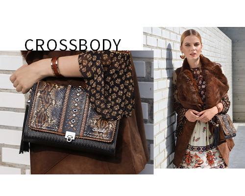 Crossbody de piel outfit