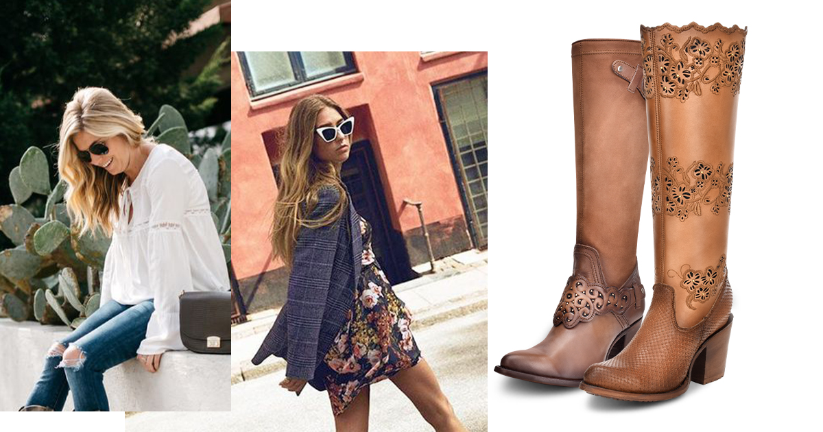 Botas western outfit