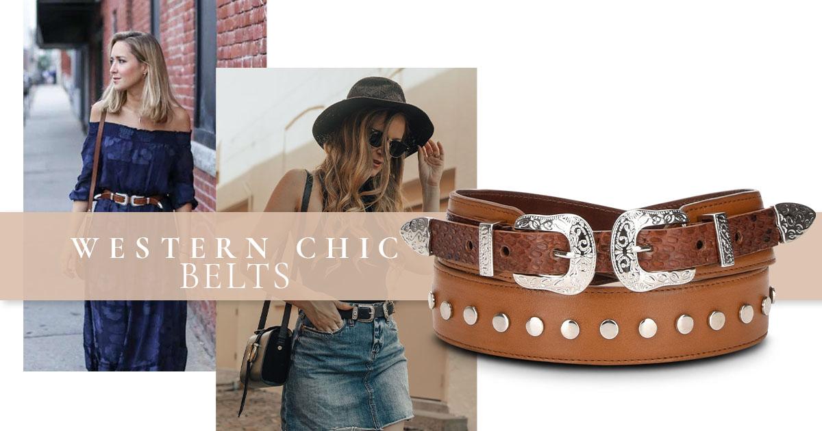 western chic belt