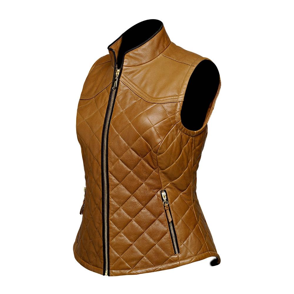 Chaleco acolchado para dama de piel de Borrego – Cuadra cb679dcfc807