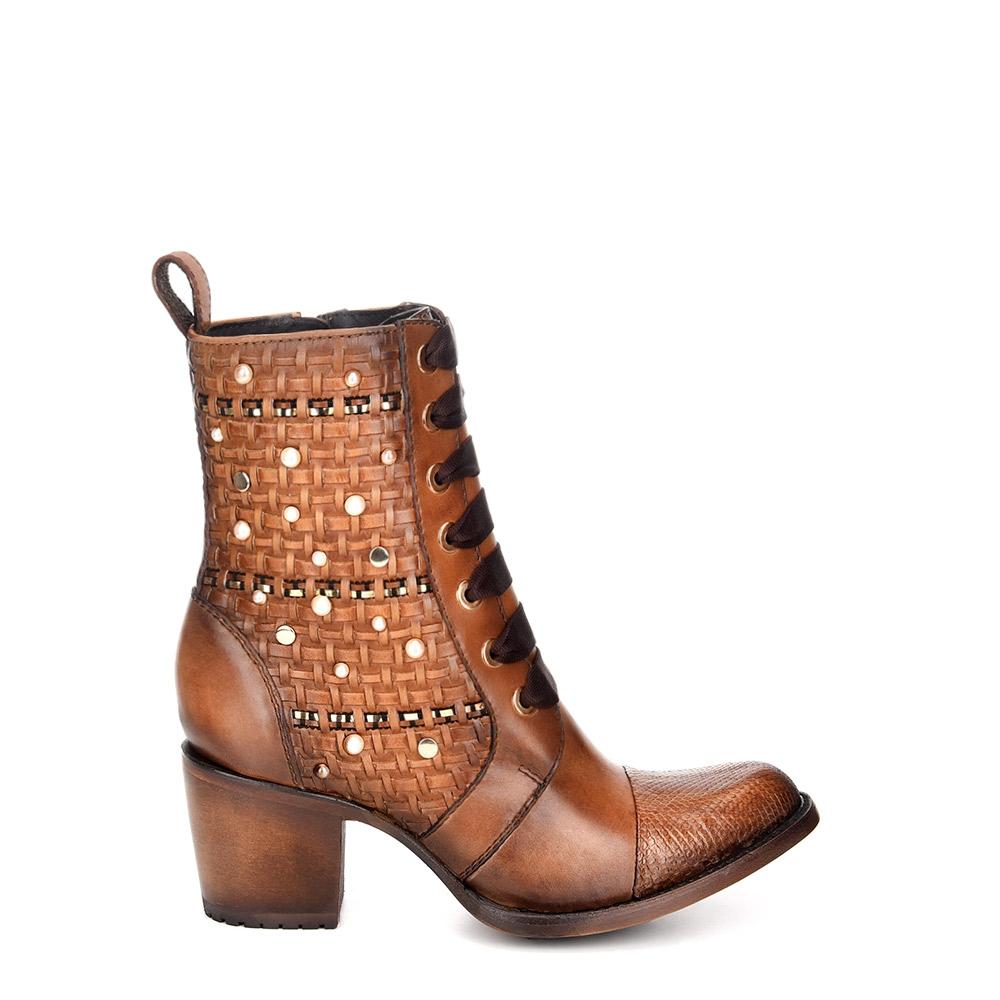 01a61714f78 Python leather bootie of Python skin – Cuadra